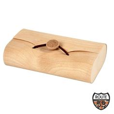 Envelope Box in wood veneer with elastic closure and wood button ideal for decorating Size 13 x 8 x 3 5