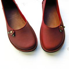 CUSTOM Handmade Leather whimsy fairy tale shoes, EDITH by Fairysteps Shoes