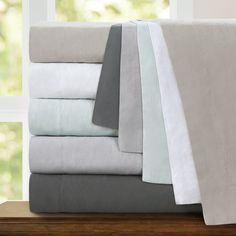 It offers a rich texture, is exceptionally durable and becomes buttery soft over time. These duvet covers are prewashed and will become softer with regular use and washing.