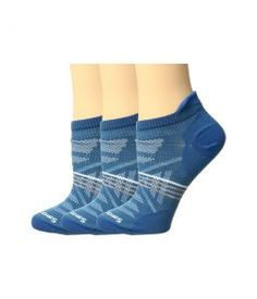 Smartwool PhD Outdoor Ultra Light Micro 3-Pack (Glacial Blue) Women's Crew Cut Socks Shoes
