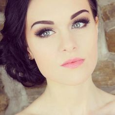 Natural Wedding Makeup Fair Skin : 1000+ images about Bridal Makeup on Pinterest Wedding ...