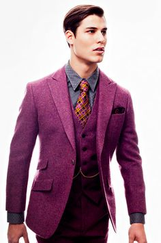 Phineas Cole wool suit, I will have the courage to wear this one day!!