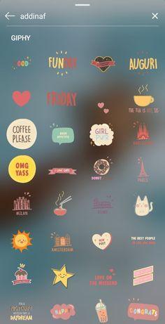 Le gif più belle per le storie di Instagram: ecco le parole chiave per trovarle   Vita su Marte Frases Instagram, Instagram Emoji, Iphone Instagram, Fotos Do Instagram, Creative Instagram Stories, Instagram And Snapchat, Instagram Blog, Instagram Story Ideas, Instagram Code