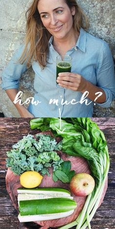 Many of you have asked me about the quantities of ingredients that I use for juices, so I thought it might be helpful to show you visually the rough quantities I use to make 2 small glasses. Healthy Smoothies, Healthy Drinks, Smoothie Recipes, Eating Well, Clean Eating, Healthy Eating, Healthy Food, Naturally Ella, Detox Drinks