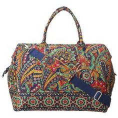 Sales Vera Bradley Luggage - Frame Travel Bag (Venetian Paisley) - Bags and Luggage new - Zappos is proud to offer the Vera Bradley Luggage - Frame Travel Bag (Venetian Paisley) - Bags and Luggage: For light packing and adorable carry-on quality keep the Frame Travel Bag on hand for any and all your travel needs!
