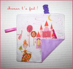 Joli Doudou Tout Doux Princesses : Jeux, peluches, doudous par maman-l-a-fait