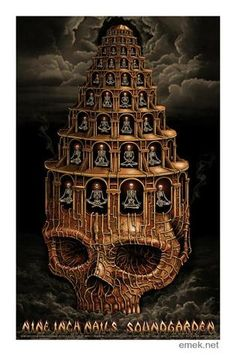 New Soundgarden Dark Rock Band Music Cover Custom Poster Print Art Decor T-107