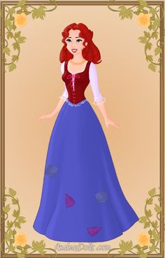 Azaleas Dolls Disney | ... Esmeralda using the Heroine Creator on Azalea Dolls picturei mage
