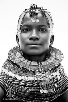 Buy photographs of Africa by South African photographer, David Ballam, online. African people such as the Turkana and the African landscape. African Tribes, African Women, African Art, African Design, Photographie Portrait Inspiration, Photo Portrait, African Culture, African Beauty, World Cultures