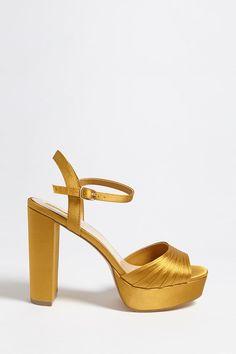 eca076245ac2 Product Name Satin Platform Sandals