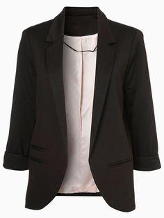 Slim Blazer In Black | Choies