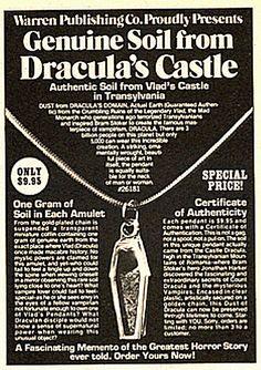 Tierra autentica del castillo de Dracula! / Authentic soil from Dracula´s Castle #funny, #lol, #gracioso