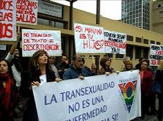 Los transexuales no son enfermos, son personas.