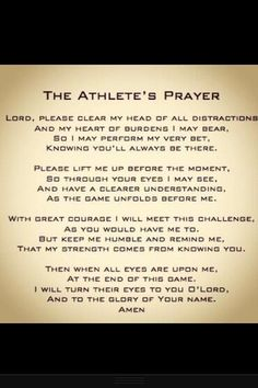 The athletes prayer                                                                                                                                                     More
