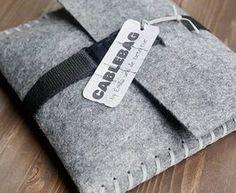 Tutoriel DIY: Réaliser un sac pour câbles via DaWanda.com