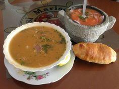 Comida tradicional Ecuatoriana. Encebollado