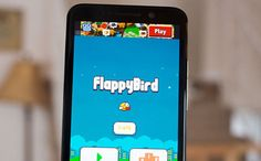 Boost mobile phone with flappy bird