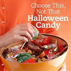 Choose This, Not That: A Halloween Candy Guide for Diabetics. #HealthyHalloween