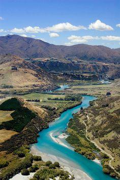 Kawerau River, Queenstown, New Zealand