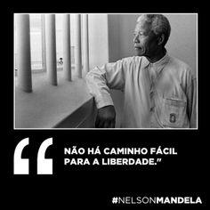 Nelson Mandela, presidente da África do Sul e Nobel da paz morreu ontem, aos 95…