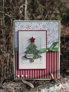"Eileen's ""Stampin' Fever"" Blog: LNS Challenge - Favorite Christmas Colors"