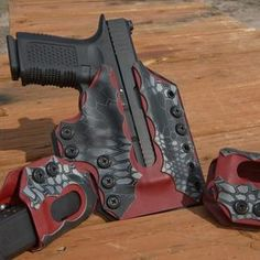 Indra's Reign Custom Kydex holsters featuring our patented slide cut.