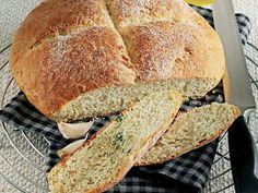 Sarımsaklı Ve Kekikli Ekmek Tarifi - Lezzet