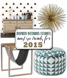 MUST SEE 2015 Design Trends, DelineateYourDwelling.com