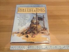 """Reader's Digest illustrated dictionary of Bible Life & Times, it measures 11 1/8"""" x 8 3/4"""" x 1"""", Hardcover 416 pages, asking $20."""