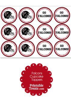 party printables party favors sanitizers labels atlanta falcons
