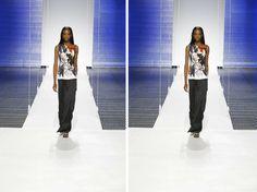 """""""Sinto uma energia muito forte vindo da mulher americana em relação ao trabalho que estou fazendo na Dior"""", lembrou Simons"""