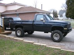 lifted Chevrolet truck