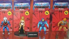 Super7: Masters of the Universe Display at New York Toy Fair