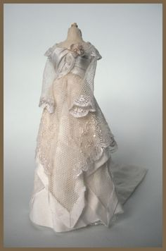 In my bubble -  miniature gown