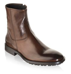 To Boot New York: Men's Harrison Boots in Brandy