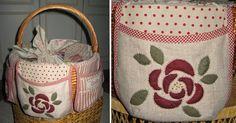 Ulla je Quilt World: Quilter košík Fabric Boxes, Hamper, Burlap, Reusable Tote Bags, Basket, Quilts, Sewing, Decor, Tote Bags