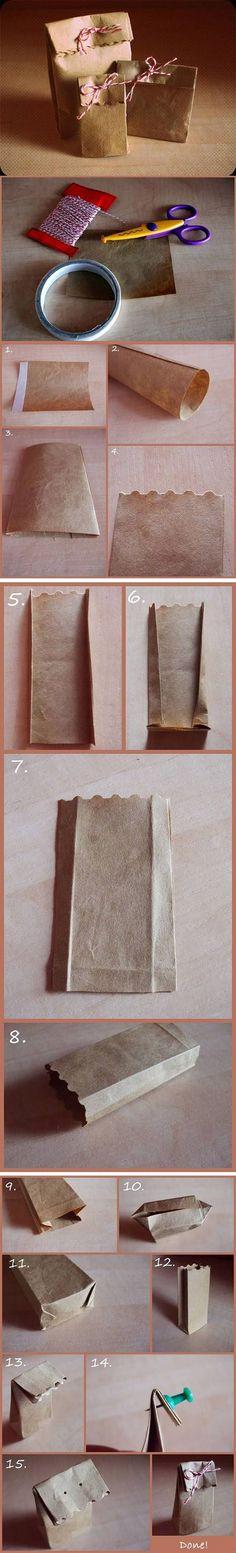 Diy Easy Gift Bag | DIY & Crafts Tutorials
