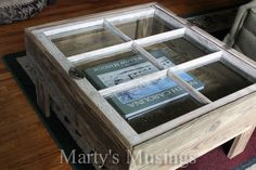 a window AND a pallet - great recycle!