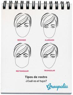 Forma de las cejas según el tipo de cara