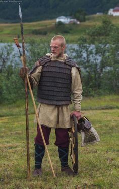 Reenactment: Vikings,Varangian, Rus and Slavic Varangian Guard, Viking Character, Viking Men, Viking Dress, Renaissance, Viking Clothing, Early Middle Ages, Old Norse, Leather Armor