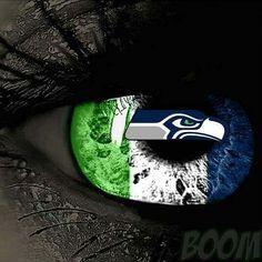 Hawk eye! Seattle Seahawks!