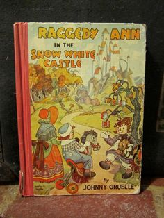 Raggedy Ann in the Snow White Castle 1940s by ShowandTell26, $13.00