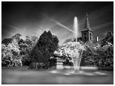 Pruhonice Castle Fountain