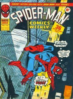 Spider-Man Comics Weekly #112