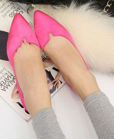 Roseo Flat Shoes with Pointed Toe