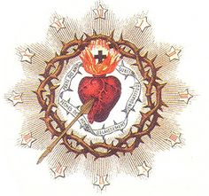 On the Sacred Heart of Jesus (and being a Bleeding Heart Conservative) …… Catholic Art, Religious Art, Sacred Heart Tattoos, Jesus E Maria, Christ The King, Religious Pictures, Heart Of Jesus, Divine Mercy, Prayer Cards