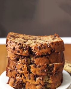 One Bowl Chocolate Chip Banana Bread by Tasty
