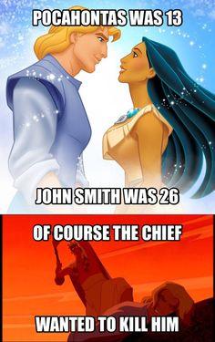 John Smith was savage - Funny,Funny memes,Funny pic,Funny world. Disney Humor, Funny Disney Jokes, Crazy Funny Memes, Really Funny Memes, Disney Quotes, Stupid Funny Memes, Disney Cartoons, Funny Relatable Memes, Funny Fails