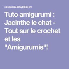 """Tuto amigurumi : Jacinthe le chat - Tout sur le crochet et les """"Amigurumis""""!"""