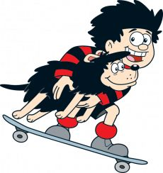 Born March 17th 1951, Dennis the Menace and Gnasher were two of my favourite characters in the Beano comic. Along with Minnie the Minx, Billy Whizz, Roger the Dodger, The Bash Street Kids, Biffo the Bear, Little Plum, Lord Snooty... I loved them all!